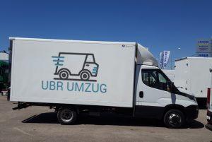 UBR UMZUG Zürich - LKW- Umzug