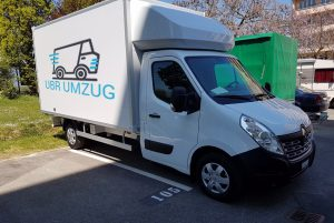 UBR UMZUG Zürich - LKW- Parking - Zurich