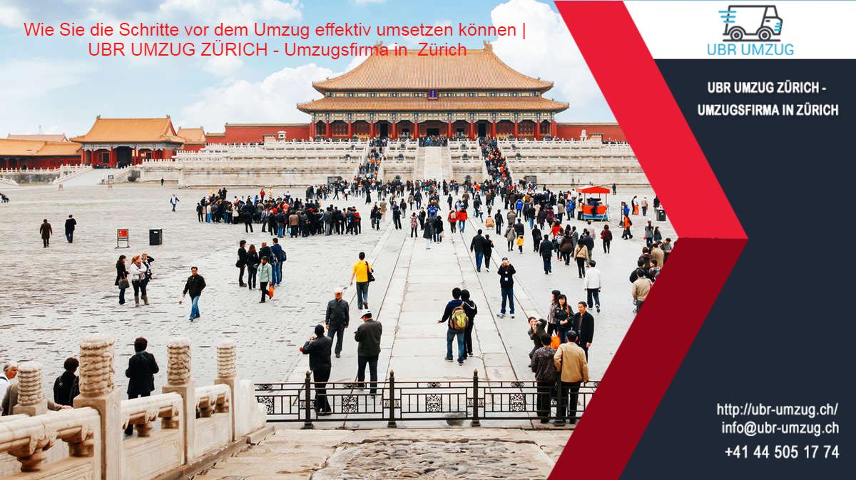 Wie Sie die Schritte vor dem Umzug effektiv umsetzen können   UBR UMZUG ZÜRICH - Umzugsfirma in Zürich